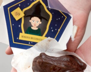 How to Make Easy Harry Potter Chocolate Frogs + Free Printable Chocolate Frog Box