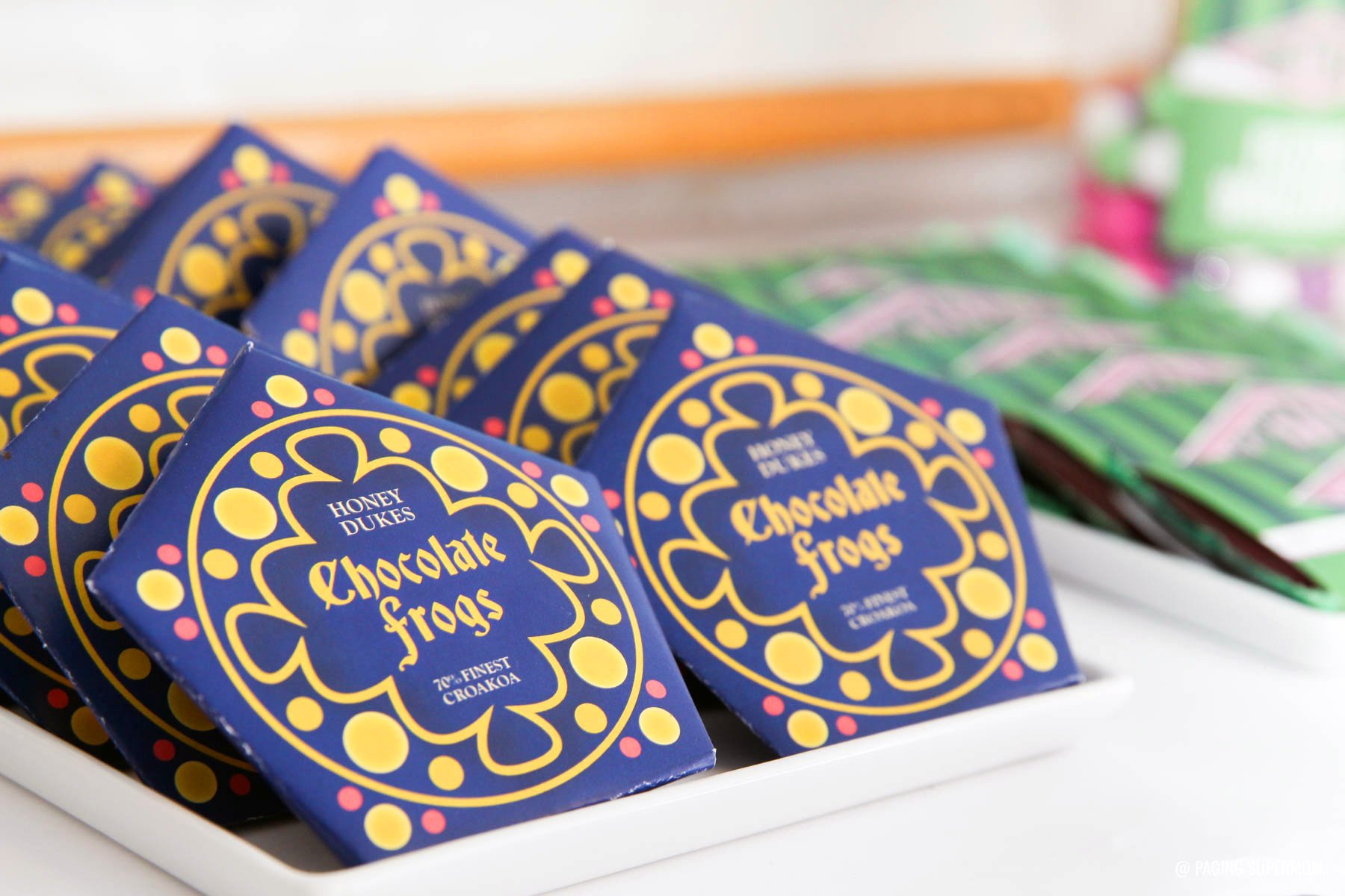 picture about Harry Potter Chocolate Frog Cards Printable identify Harry Potter Chocolate Frogs - Absolutely free Printable Template for