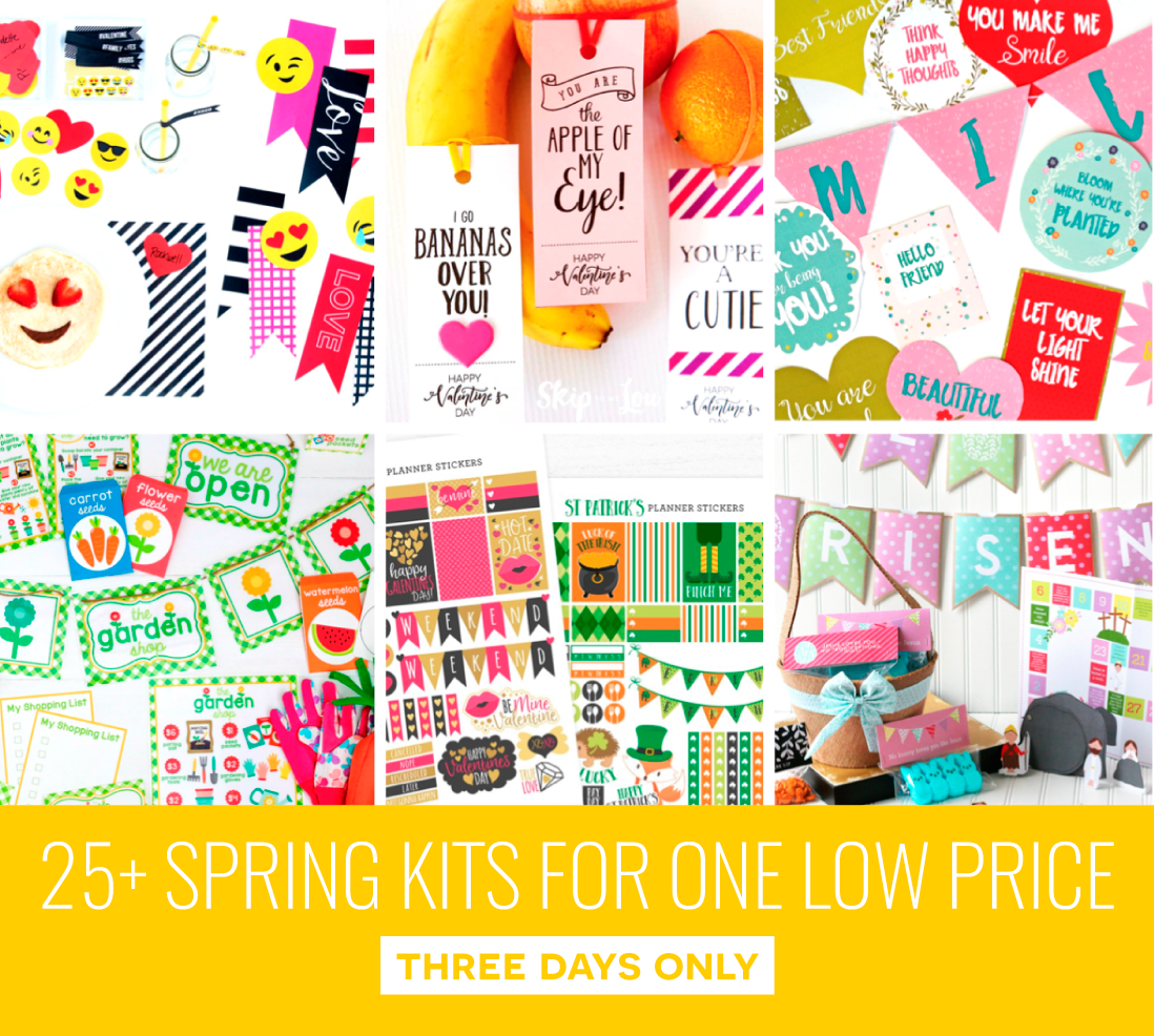 Spring Blogger Bundle via @PagingSupermom