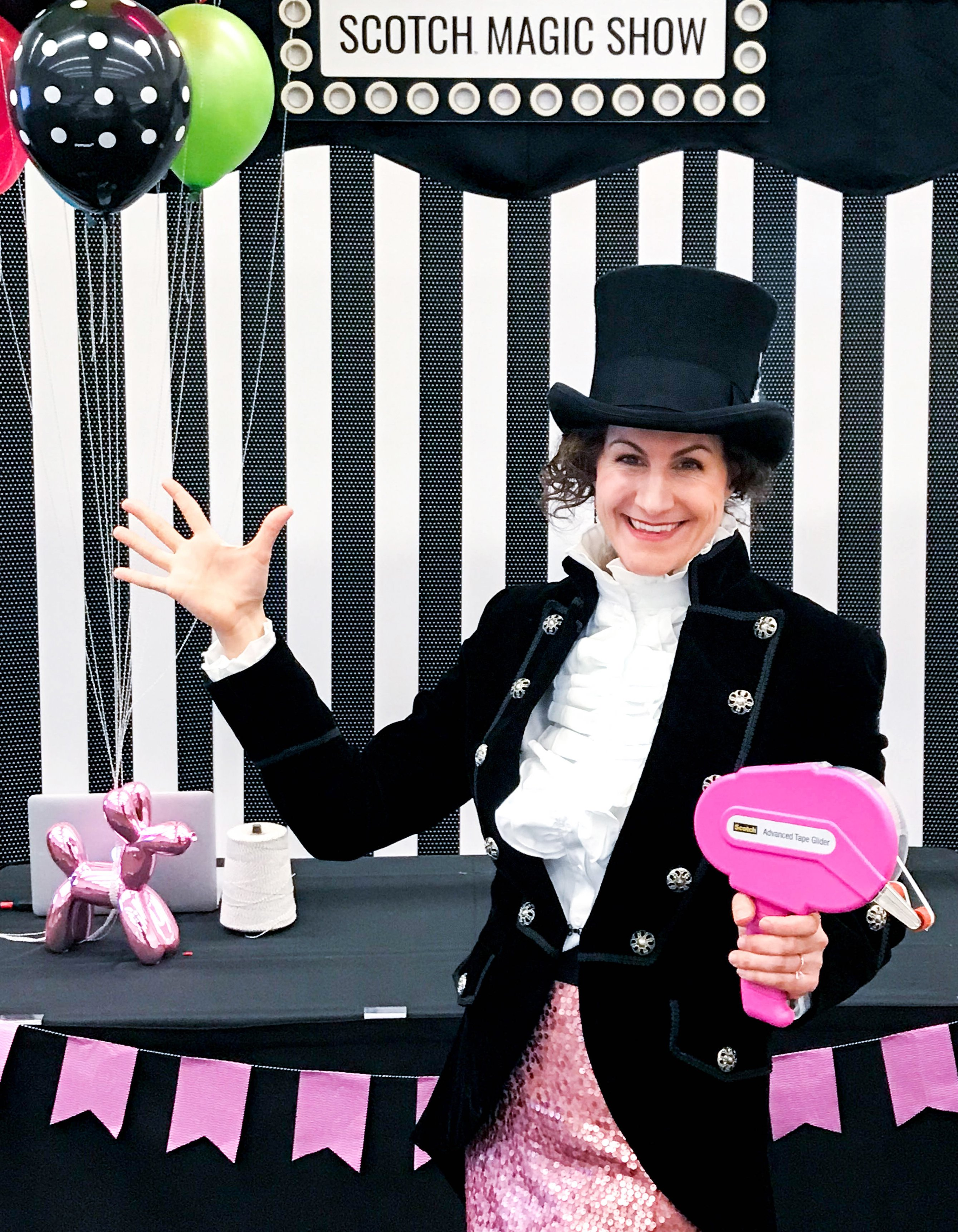 Greatest Showman Party Ideas from my Scotch Magic Show at Creativation 2018 via @PagingSupermom