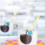 DIY Coconut Cocktail Tumblers via @PagingSupermom