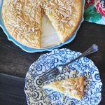 Easy Almond Torte Recipe via @PagingSupermom