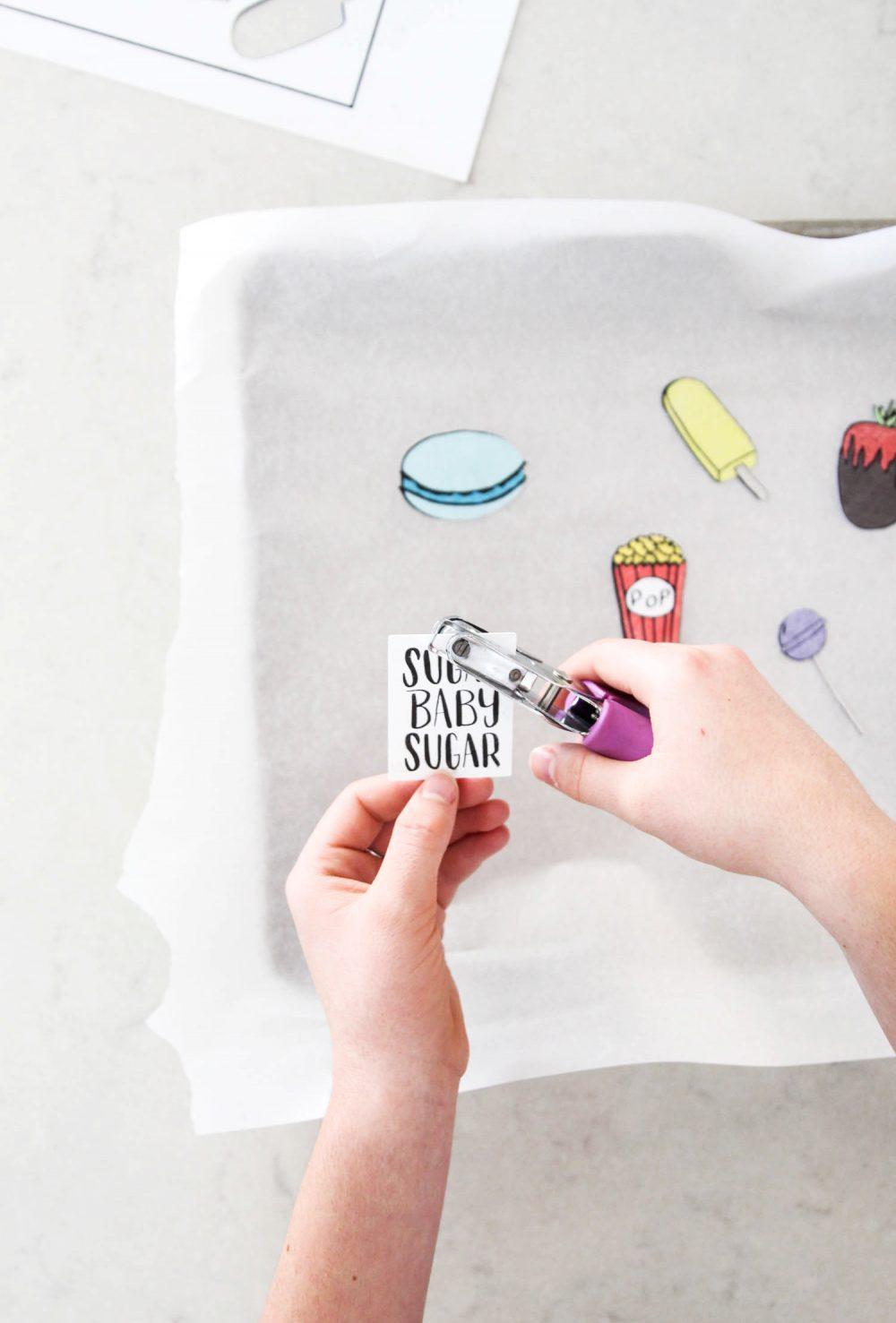 DIY Shrinky Dinks Charms - cut Shrink Film with Cricut