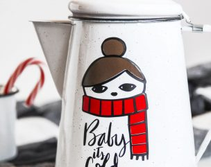 How To Layer Vinyl for DIY Christmas Gift Ideas