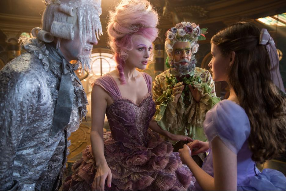 The Nutcracker Movie Scary for Kids? - These Cheerful Characters help keep the film from being too dark. Read a Mom's Movie Review @PagingSupermom