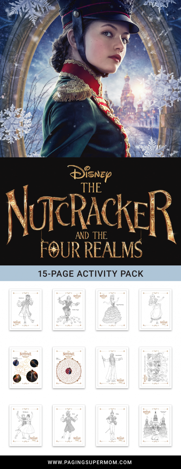 Nutcracker Coloring Pages - download this free 15-page printable pack from @PagingSupermom