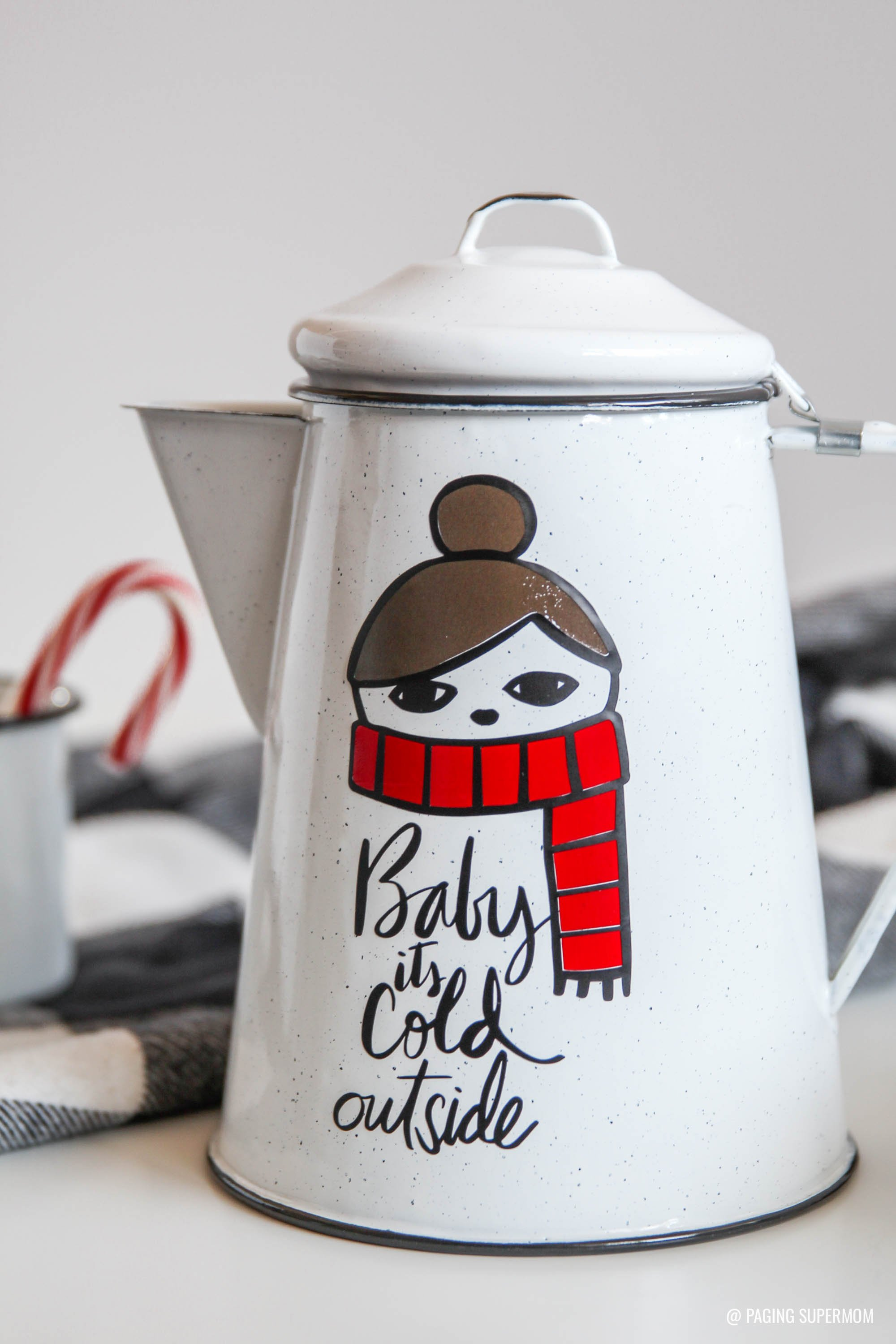 DIY Christmas Gift Ideas & How to Layer Vinyl Decals
