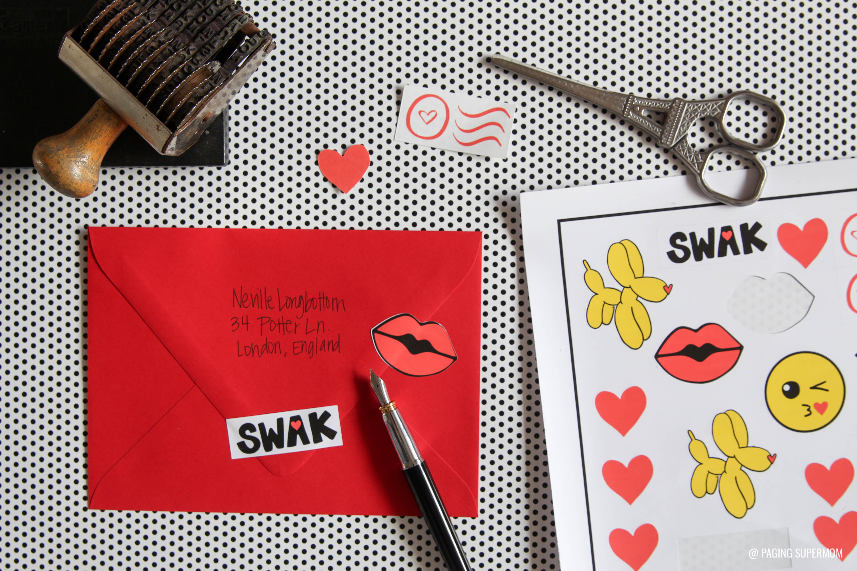 Cricut Print Cut Valentines Stickers 5