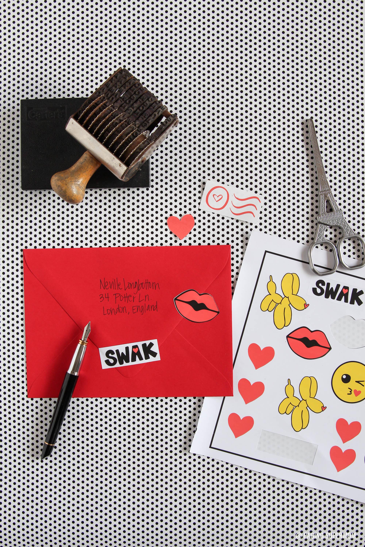Cricut Print Cut Valentines Stickers 7