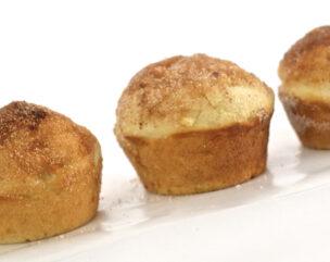 Snickerdoodle Apple Cinnamon Muffins