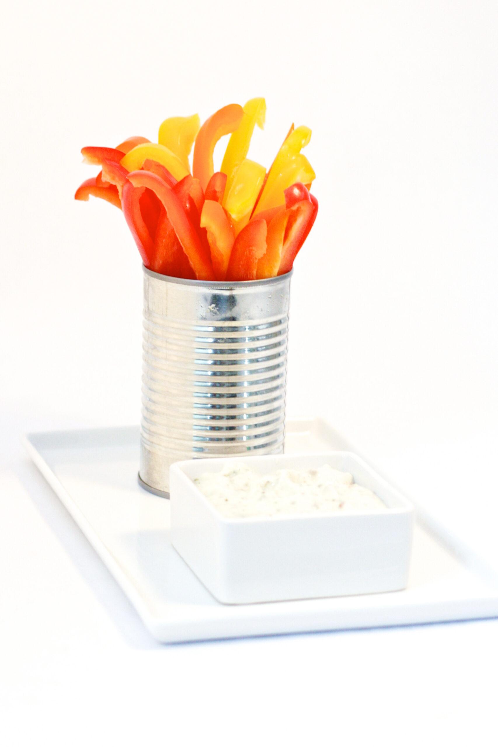 Olympic Torch Veggie Tray