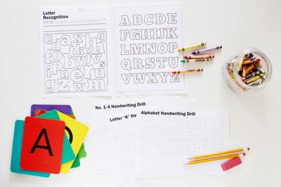 Supermom Alphabet Handwriting Worksheets 1500px