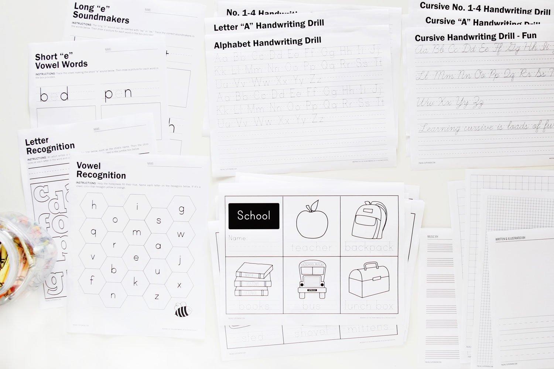 Supermom Handwriting Worksheets